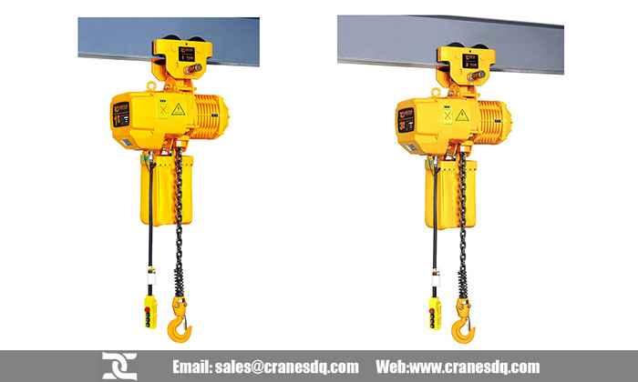 hitachi electric chain hoist manual