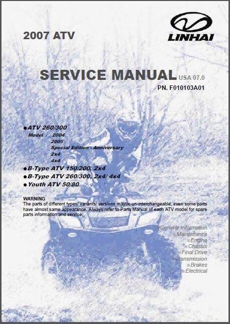 free chinese atv repair manual download