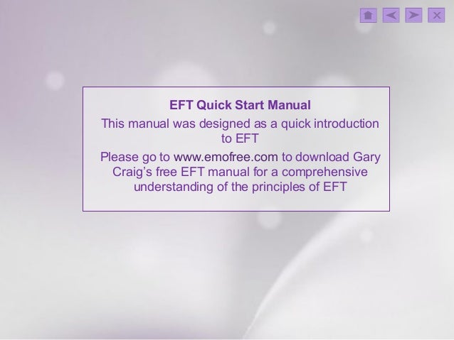 gary craig eft manual pdf