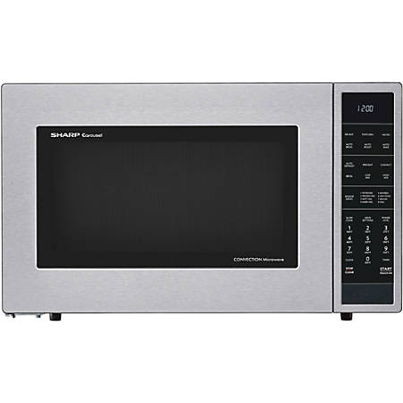 sharp microwave convection oven manual