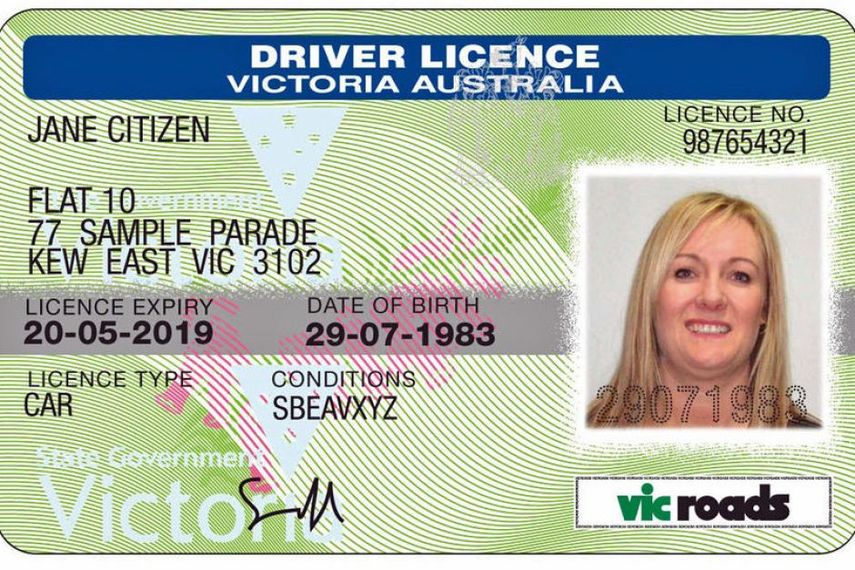 fine for driving manual on auto license vic