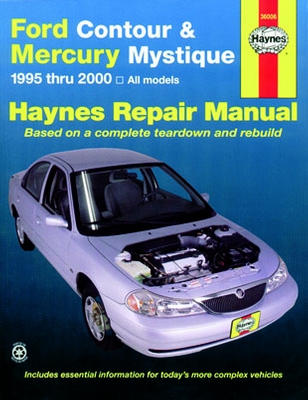 2000 mercury cougar owners manual