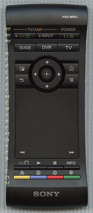 sony google tv remote control manual