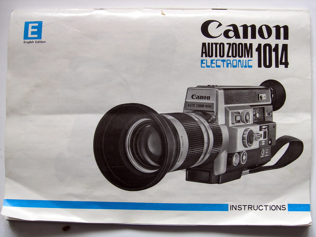 canon auto zoom 814 manual
