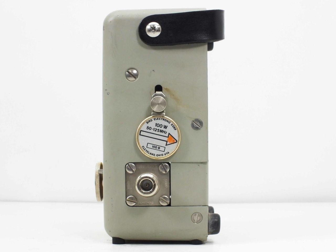 bird thruline wattmeter model 43 manual