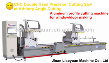 manual single head aluminium profile cutting machine