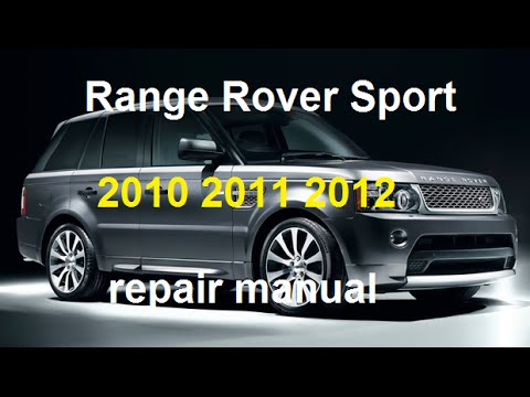 2011 range rover sport owners manual