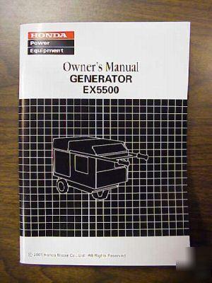 honda generator eu20i owners manual