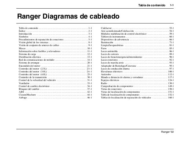 2001 ford ranger repair manual pdf