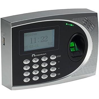 adp biometric time clock manual
