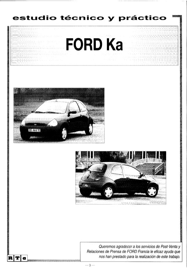 ford ka manual pdf free download
