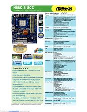 asrock n68 s3 ucc manual