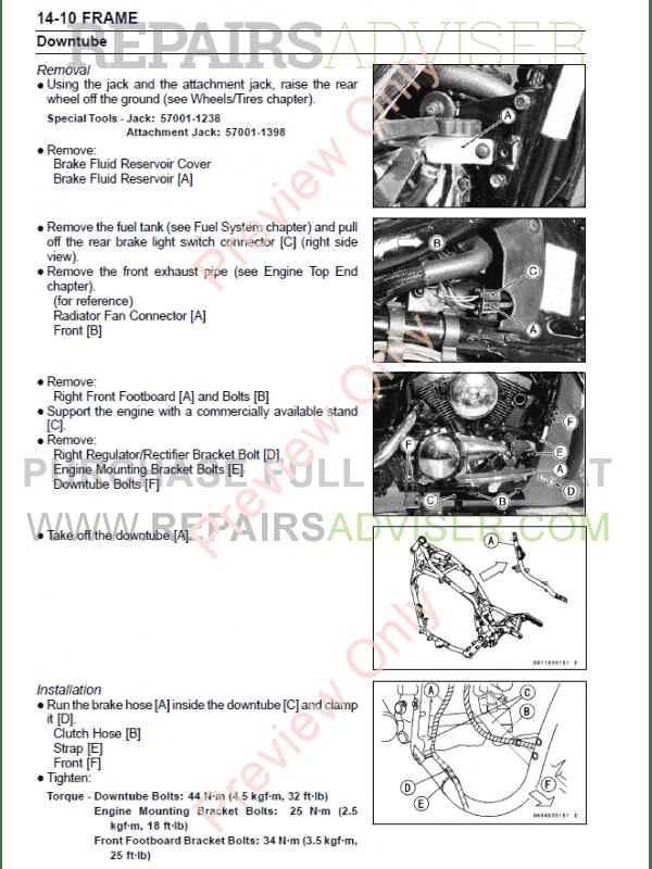 kawasaki vulcan 1500 service manual pdf