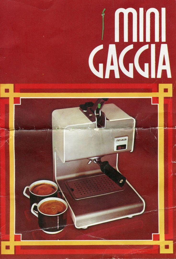 espresso italiano coffee machine manual