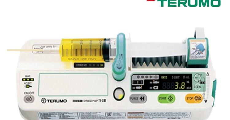 terumo syringe pump te 331 service manual