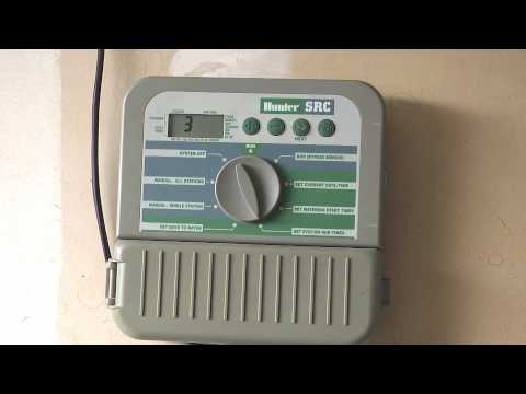 hunter irrigation remote control manual