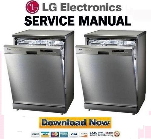 lg dishwasher service manual pdf