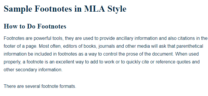 chicago manual of style footnote generator