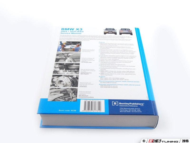 2004 bmw x3 parts manual
