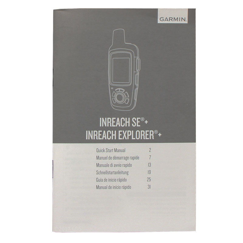 garmin inreach explorer plus manual