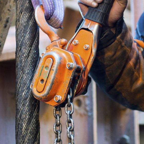 manual chain hoist inspection checklist