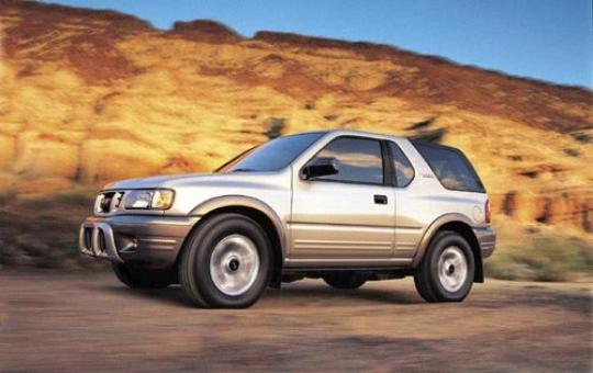2001 isuzu rodeo owners manual
