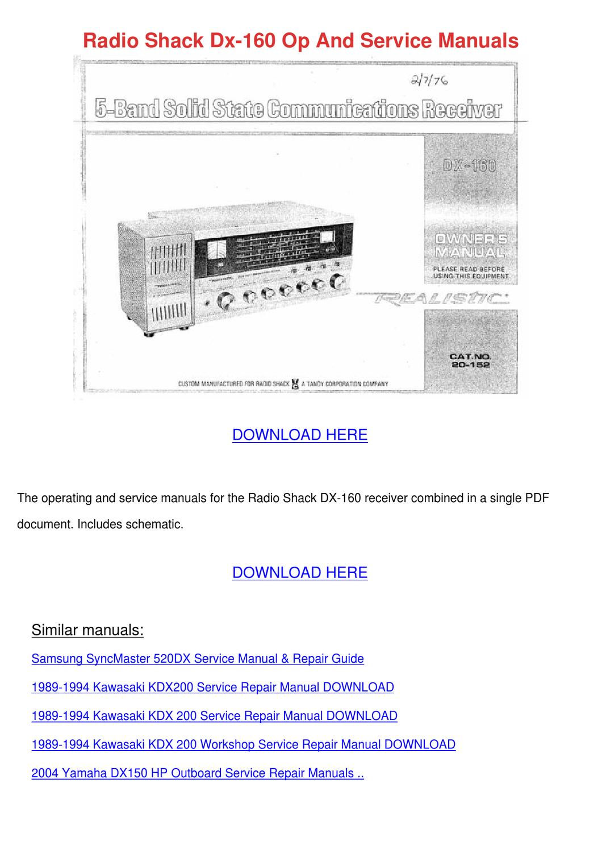 yamaha outboard manuals free pdf