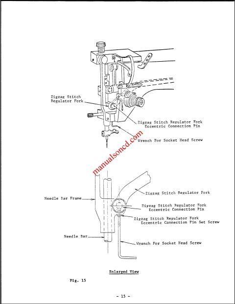 elna junior club sewing machine manual