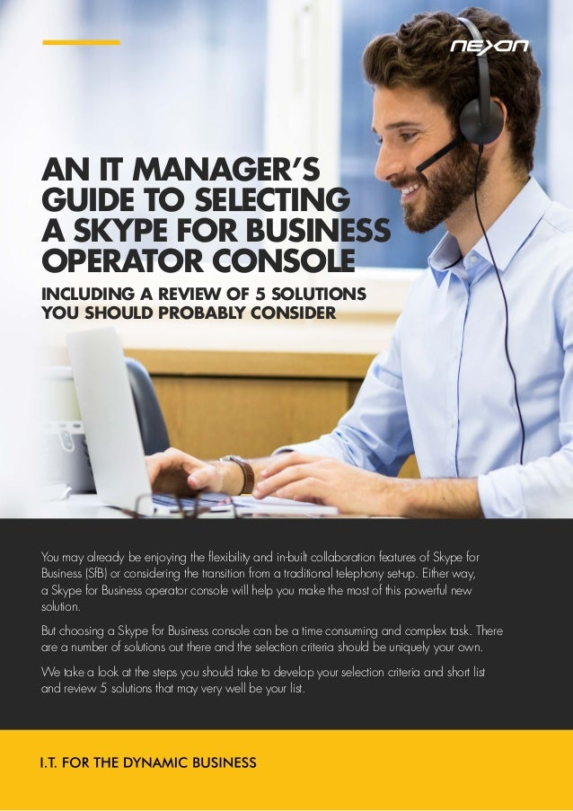 skype for business user manual