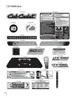 cub cadet 1050 parts manual