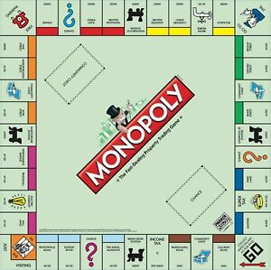 monopoly board game instruction manual