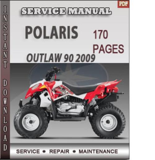 polaris outlaw 90 service manual pdf