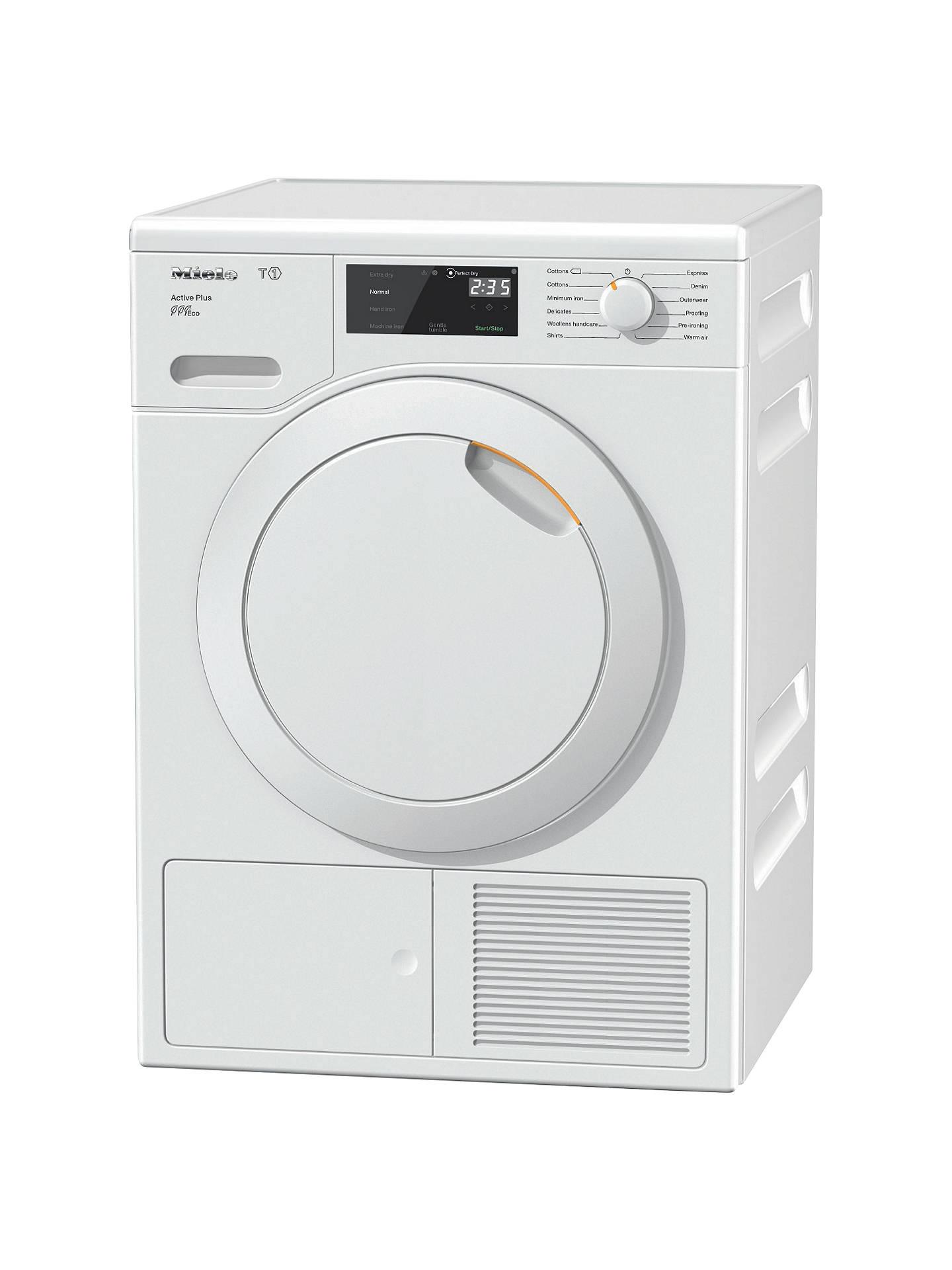 miele heat pump dryer manual