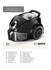bosch runn n vacuum cleaner manual