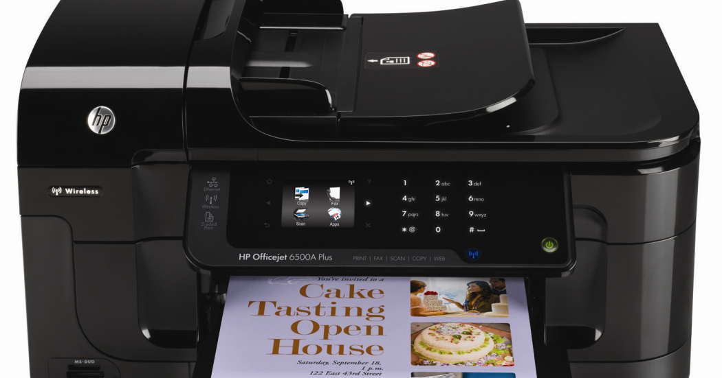 hp officejet 6500 manual troubleshooting