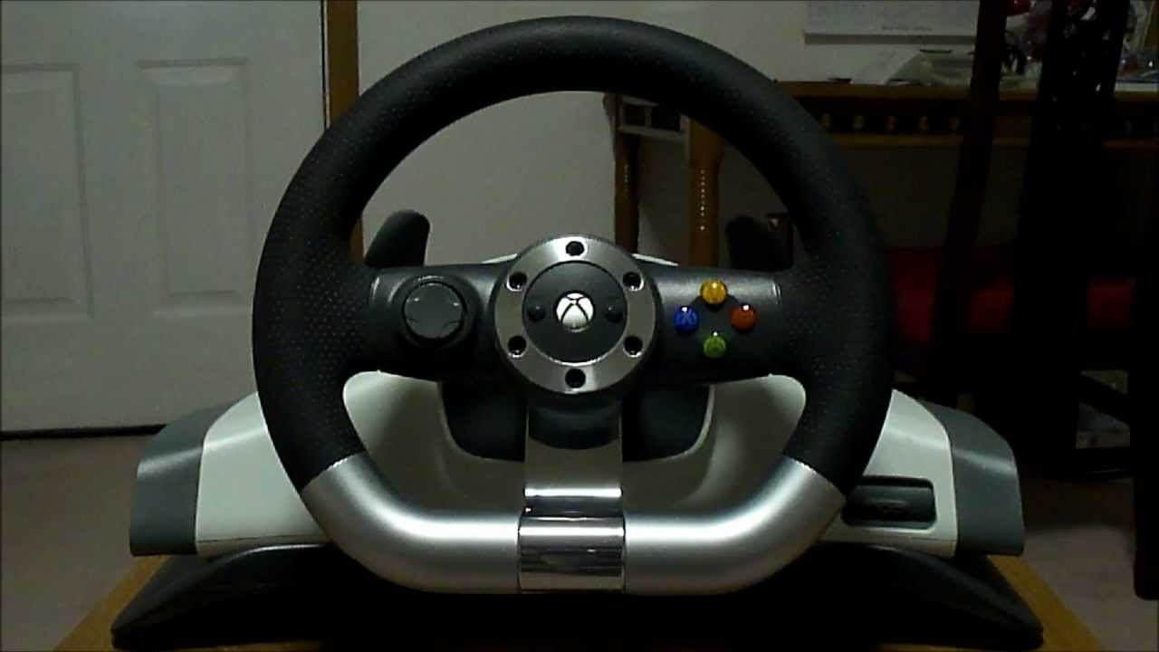 xbox 360 steering wheel manual