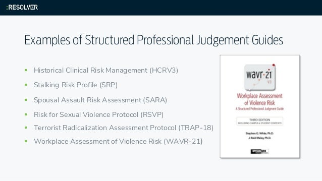 spousal assault risk assessment guide manual