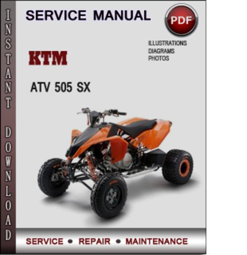 ktm 350 sxf service manual