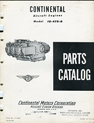 continental tsio 360 parts manual