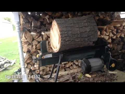 yardworks electric log splitter manual