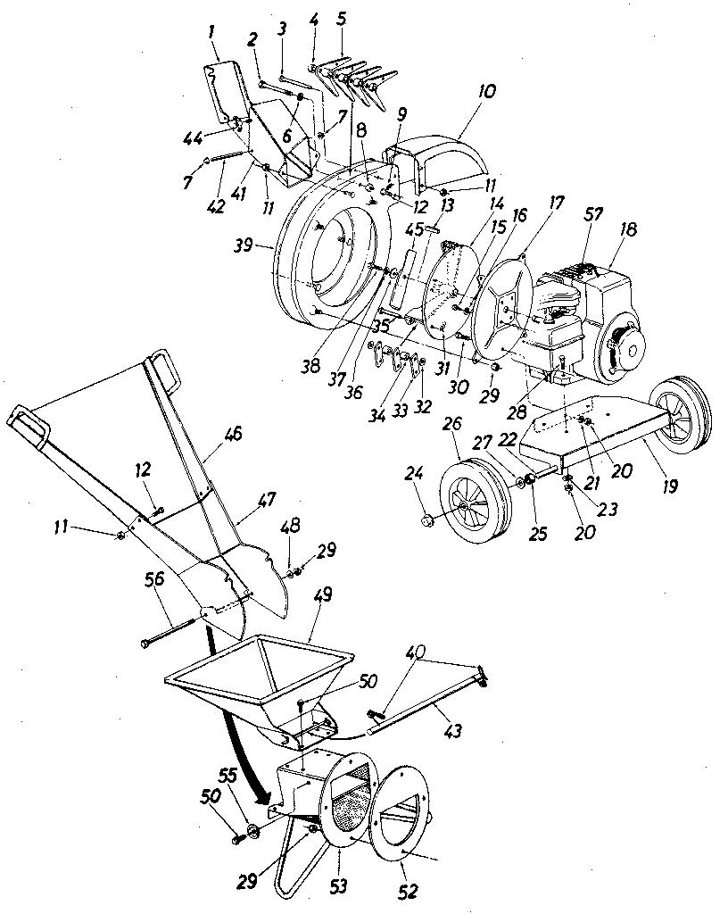 craftsman 5hp chipper shredder manual