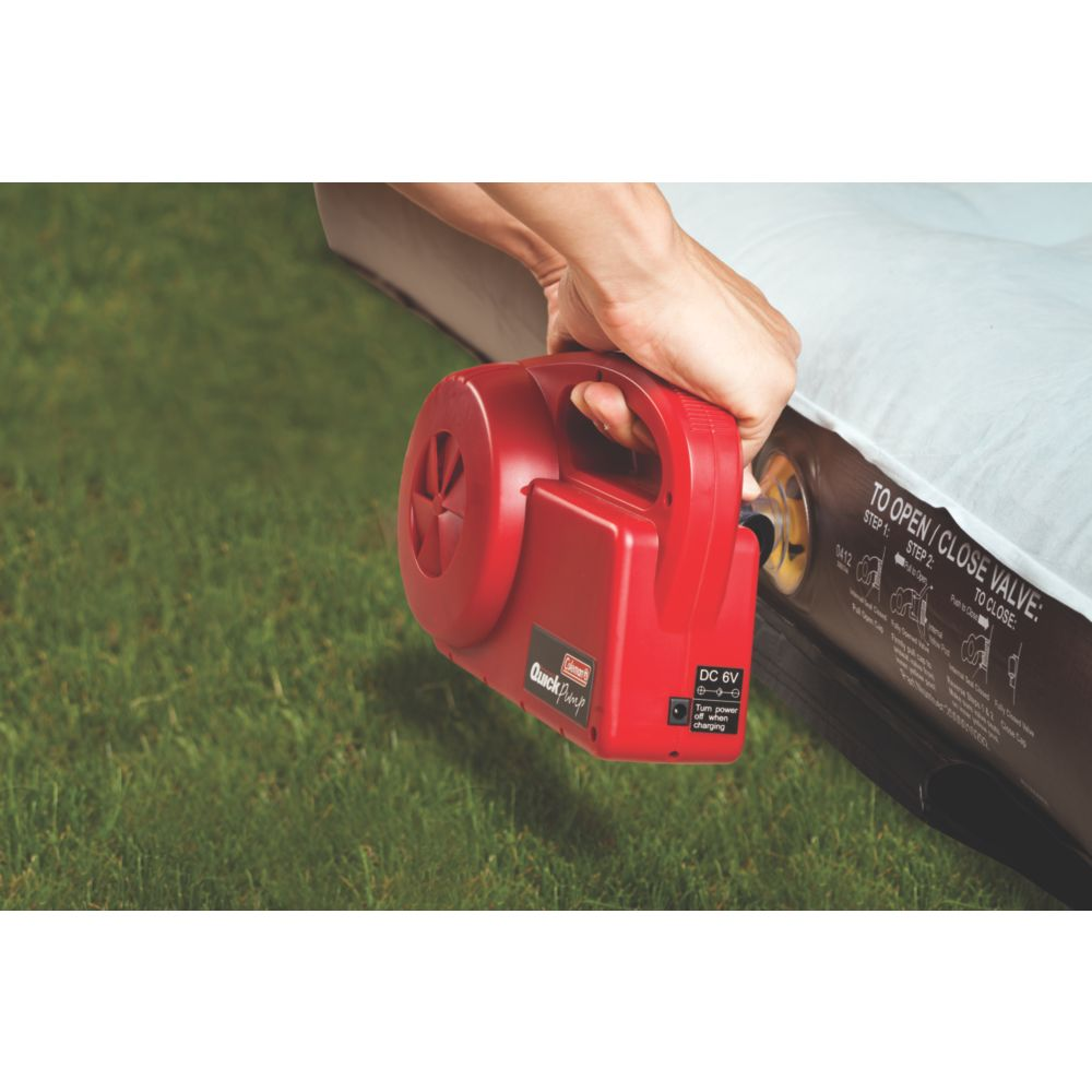 coleman rechargeable quick pump manual