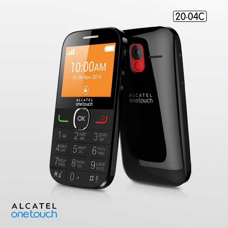 alcatel one touch seniors phone user manual