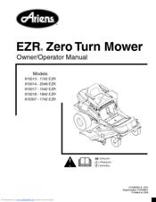 ariens ezr 1742 service manual