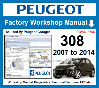 peugeot 308 workshop manual free