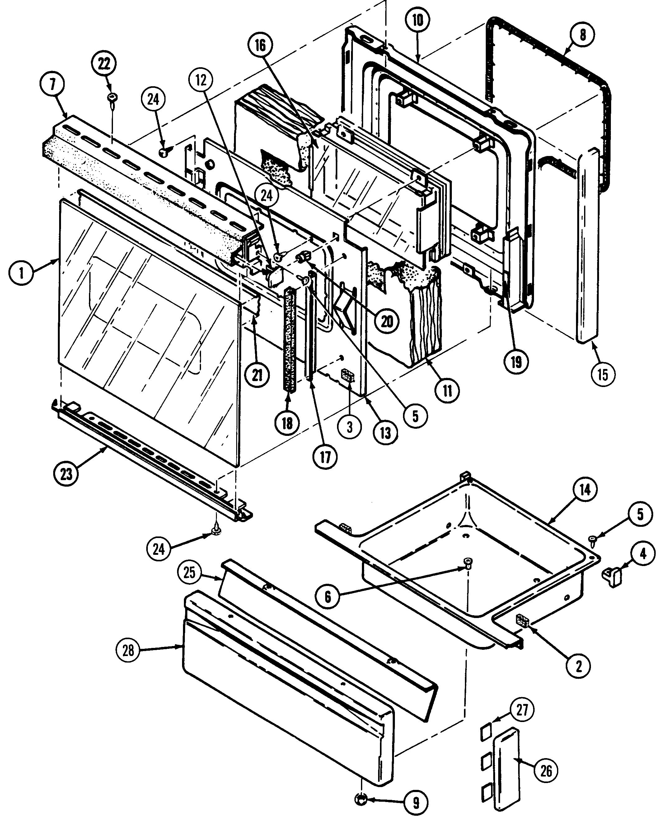 magic chef gas stove manual