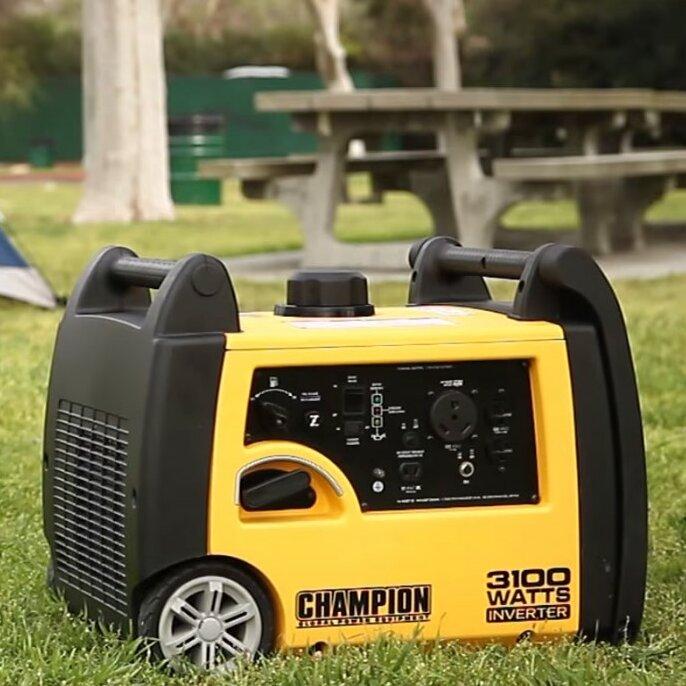 champion 3100 watt inverter generator manual
