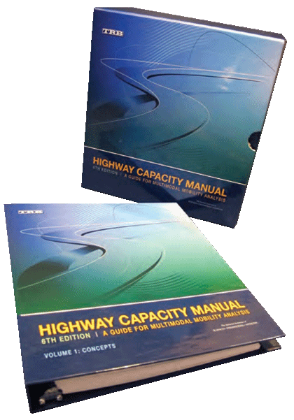 highway capacity manual 6th edition pdf