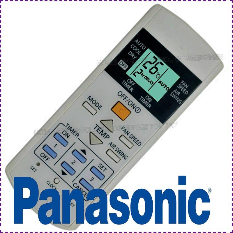 panasonic ac remote control manual