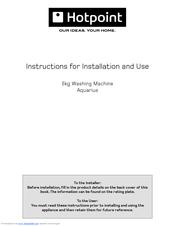 hotpoint ultima washing machine manual